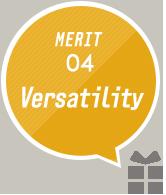 MARIT04:Versatility
